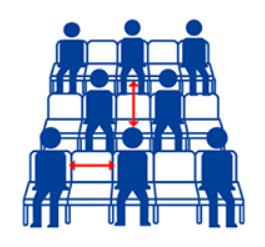 席配置イメージ