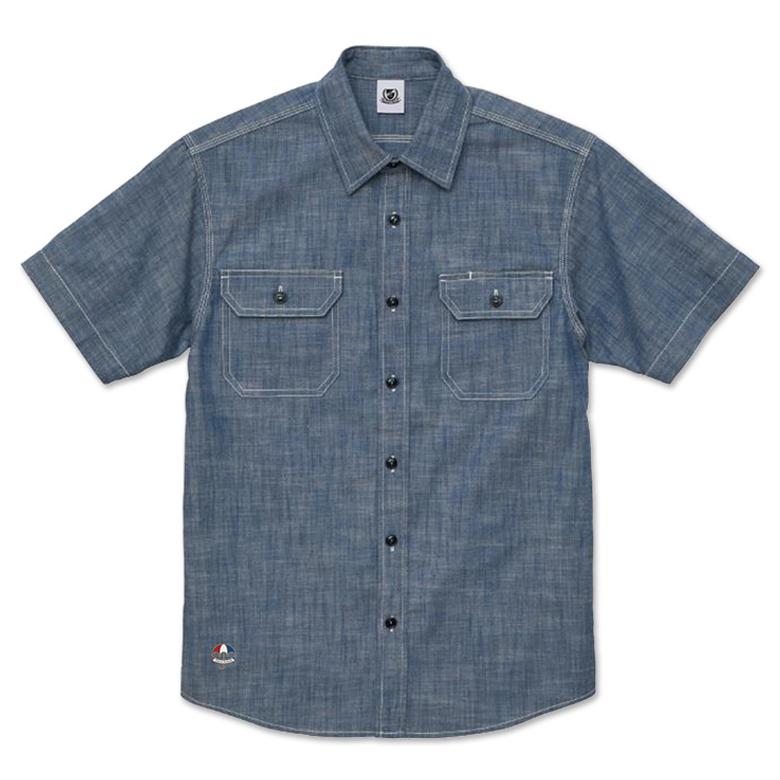 シャンブレーワークシャツ<トリパラ>