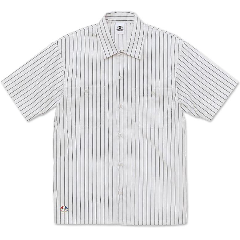 ストライプワークシャツ<トリパラ>