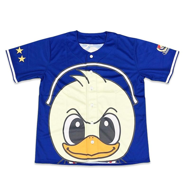 マリノス君ベースボールシャツ
