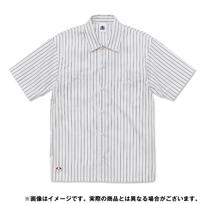 ストライプワークシャツ〈トリパラ:ホワイト〉